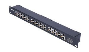 Borer Access Control Products - Twelve Port Power Injector Patch Panel