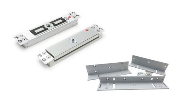 Access Control Products - Vortex Electro Magnetic Lock with (11-116) Z&L Brackets