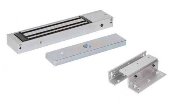Access Control Products - Electro Magnetic Lock Single with Z&L Brackets