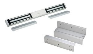 Access Control Products - Electro Magnetic Lock Double with Z&L Brackets