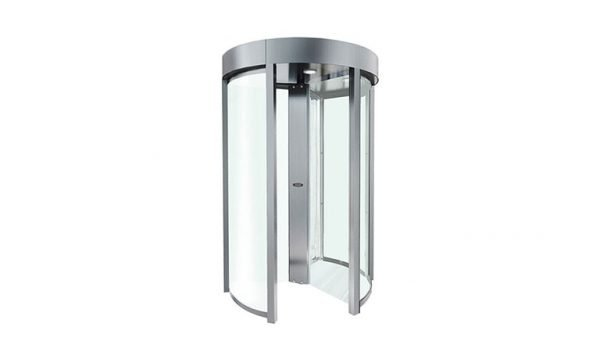 Access Control Turnstiles - PoE Full Height Clear Turnstile (Clear FH)