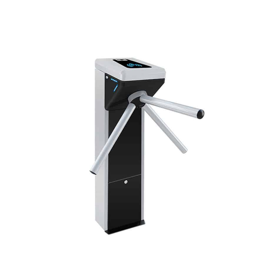 compact tripod poe biometric turnstile power over ethernet