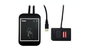 Borer Access Control Products - USB DESFire Biometric Fingerprint on Card Enrolment Reader/Encoder