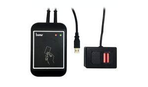 Borer Access Control Products - USB DESFire Biometric Fingerprint on Card Enrolment Reader/Encoder