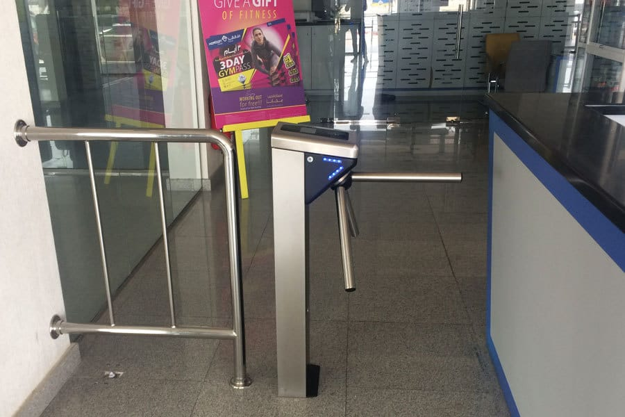 Borer Gym Membership Access Control System