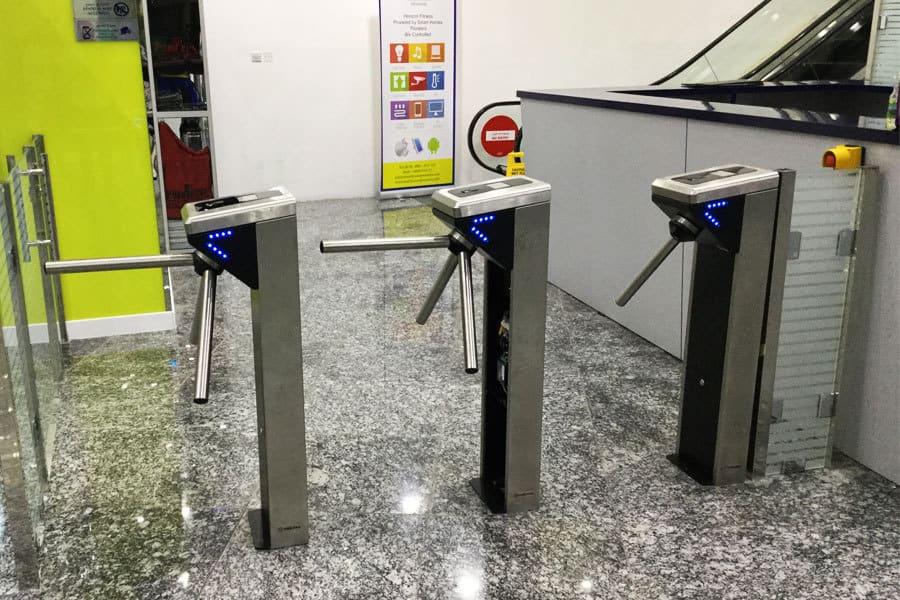 24/7 Gym Membership Access Control System