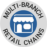 Access Control and staff attendance for multi-branch retail chains