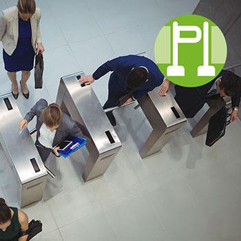 PoE Turnstiles Access Control