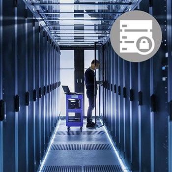 Server Rack Data Centre Security